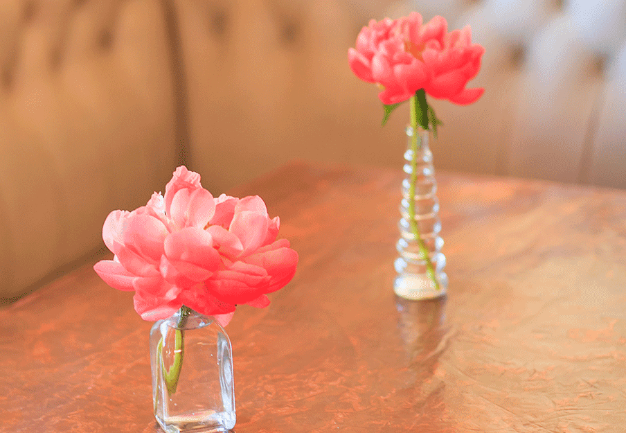 Bud Vases with Focal Bloom
