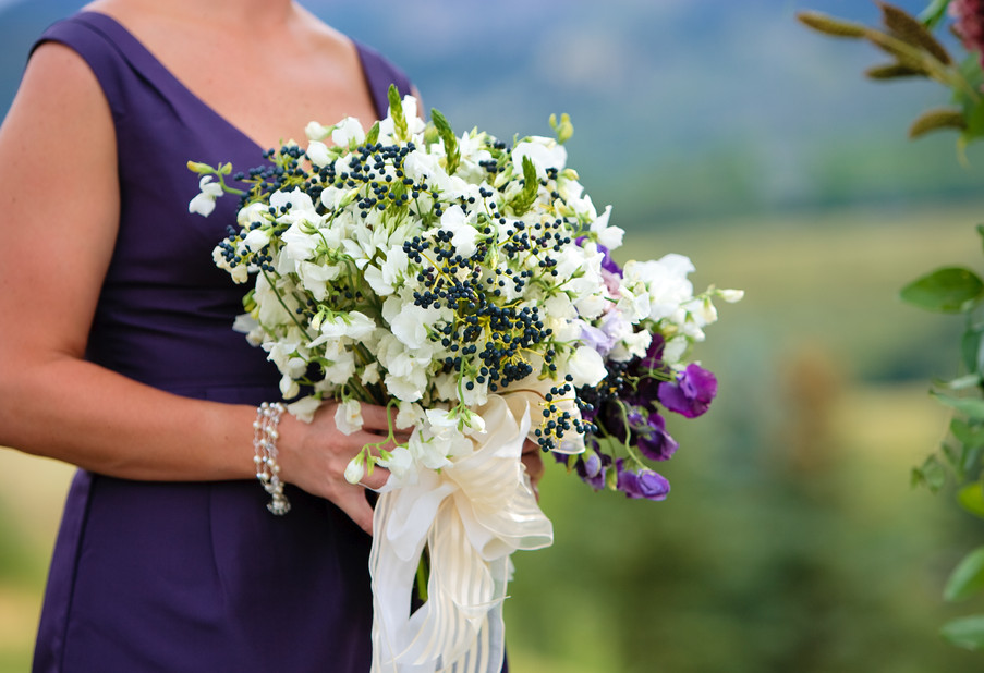 Sweet Peas and Privet Berry