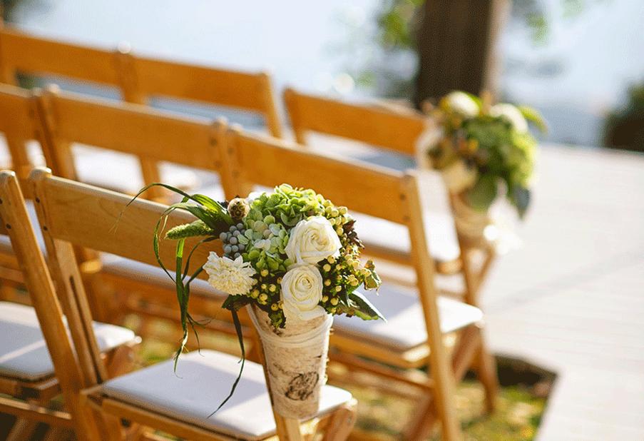 Organic Aisle Bouquets
