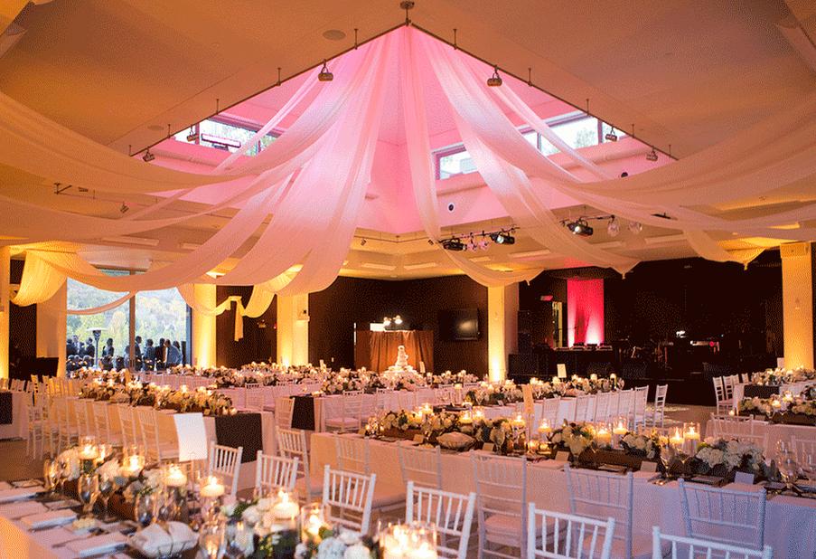 Fabric Draped Ceiling