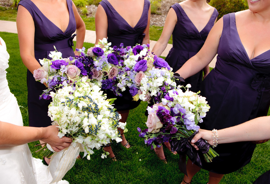 Sweet Peas, Stock and Lisianthus