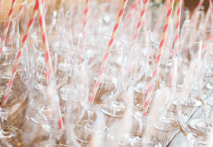 Glasses and Straws