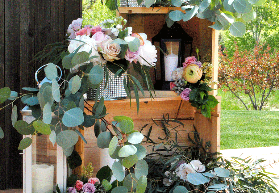Eclectic Display for Ceremony