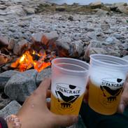 Bières St-Pancrace & feu