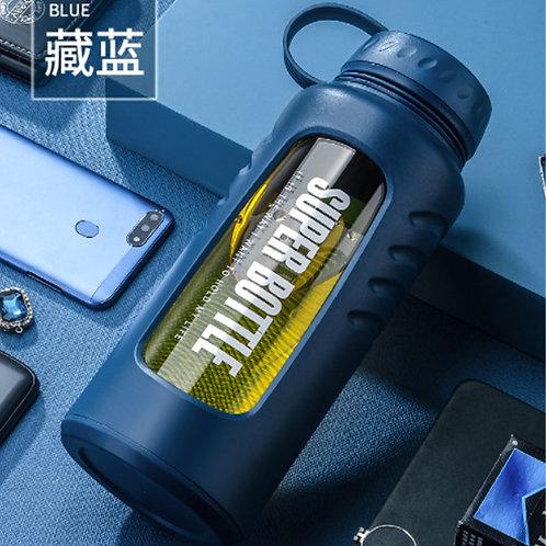 Super Bottle Tempered Glass Water Bottle 2L