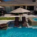 Baja Shelf Custom Pool Feature