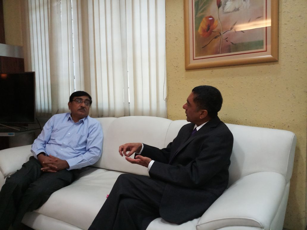 Discussions with Mr.Amit Kaushik,Australian Research Council,Delhi