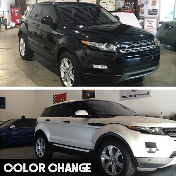 Full Vinyl Wrap Color Change