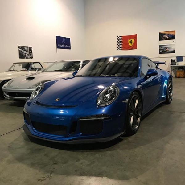 Porsche GT3 Exterior Detail