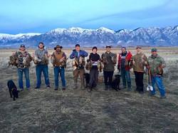 Triumph gang pheasant hunt