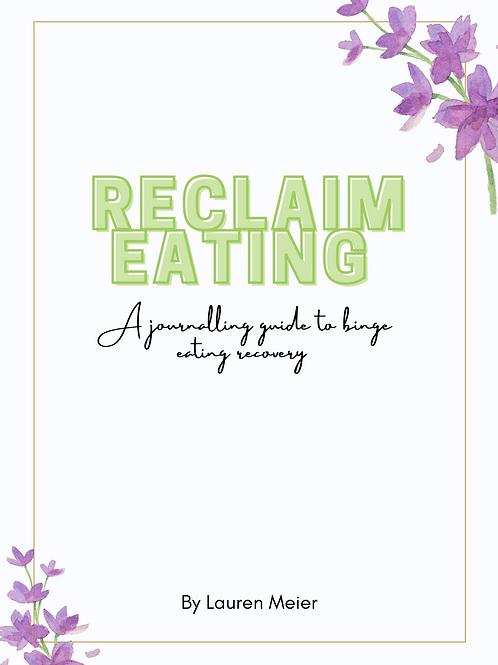 Reclaim Eating Workbook