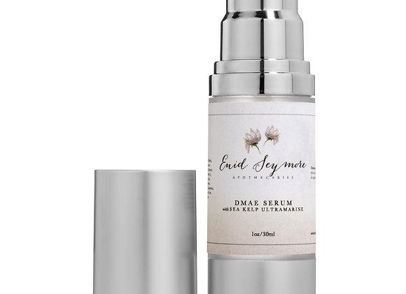 Skin Clearing: DMAE Serum with  Sea Kelp Ultramarine and Hyaluronic Acid
