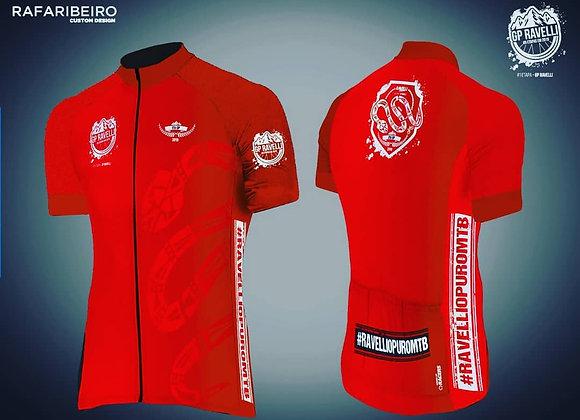 Camisa de Ciclismo Masculina GP Ravelli Etapa #1