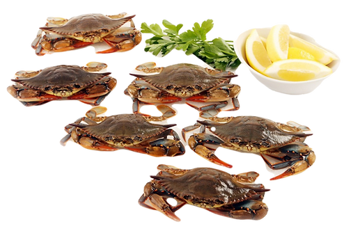 Soft-Shell Crabs Whole (600g)