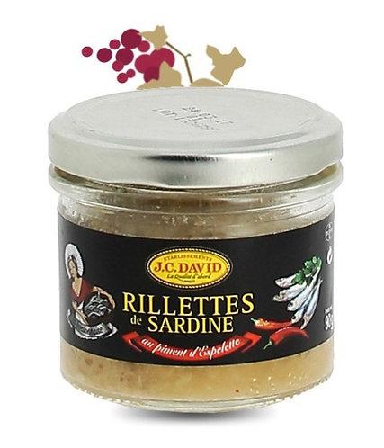 JC David - Sardines Rillettes 90g
