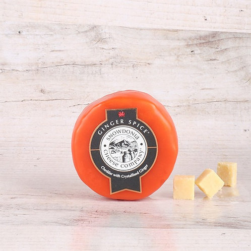 "Snowdonia - Cheddar with Crystallised Ginger ""Ginger Spice"" 200g"