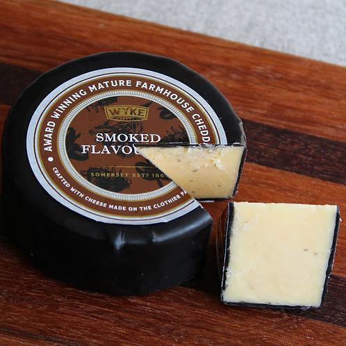Wyke - Black Waxed Smoked Mature Cheddar 100g
