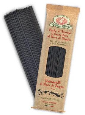 Rustichella - Squid Ink Tonnarelli Pasta 500g