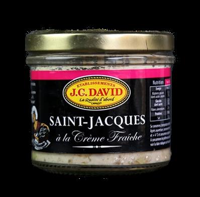 JC David - Scallops with Fresh Cream 100g