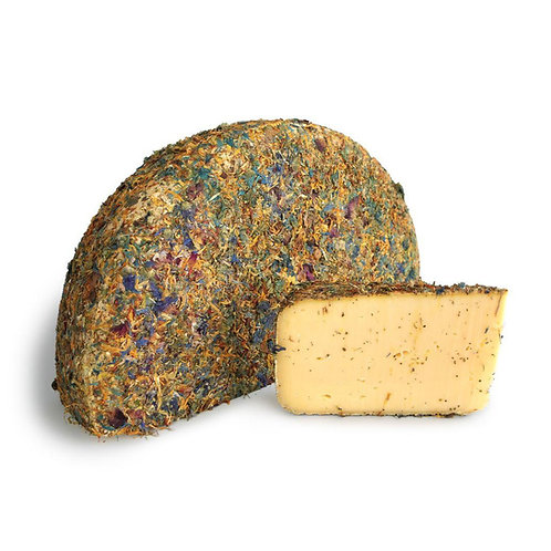 Tomme de Vache with Flowers (Approx. 250g)