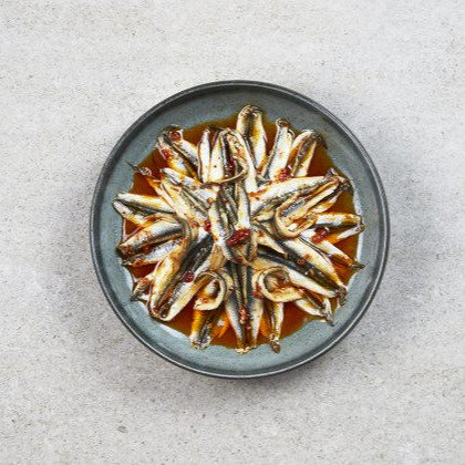 """La Barre - Marinated Anchovy Fillets """"Oriental"""" 1kg"""
