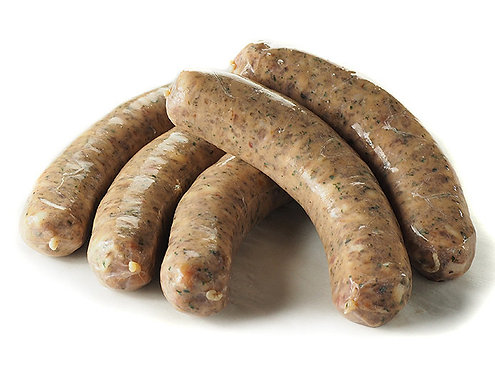 Chicken Bratwust Coarse With Herbs Sausage (Approx. 800g)