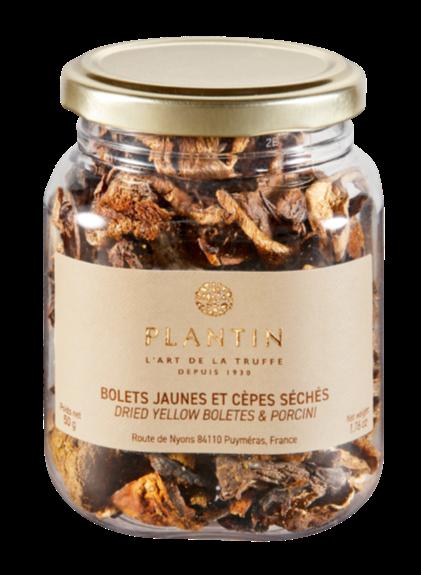 Plantin - Dried Yellow Boletes & Porcini Mushrooms 50g