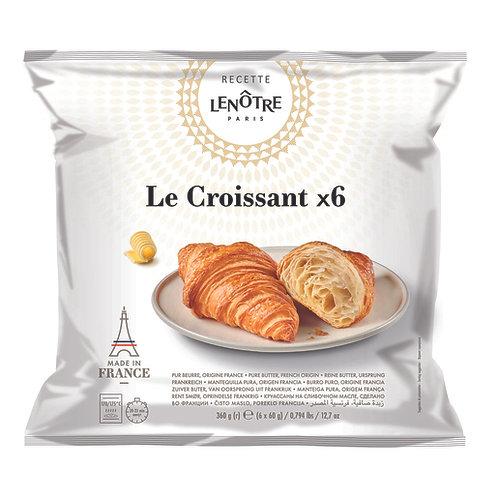 Lenôtre - Pure Butter Croissant 6x60g