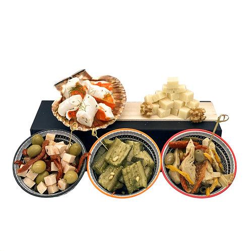 Mediterranean Appetizers Platter (5 kinds)