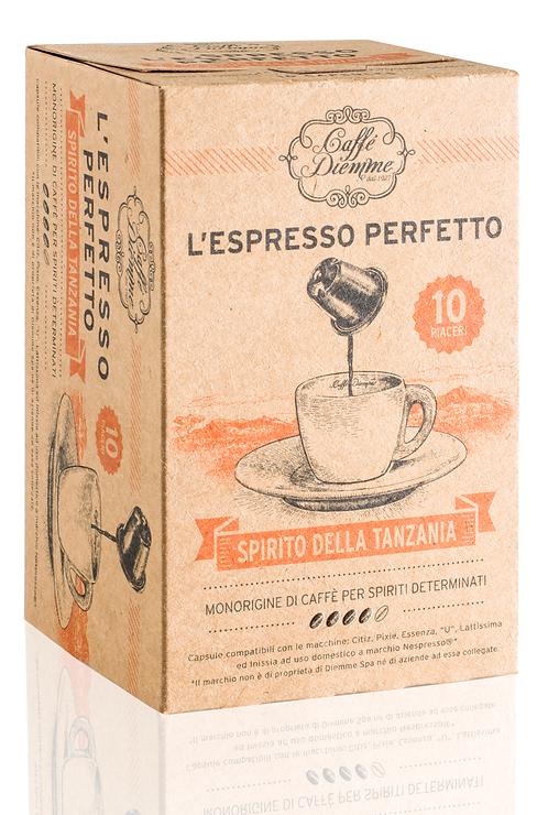 Caffé Diemme - Spirit of Tanzania Coffee Capsules x 50 caps
