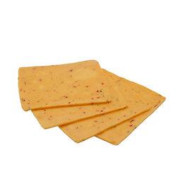 Wyke - Sliced Cheddar with Chili 10 Slices 250g