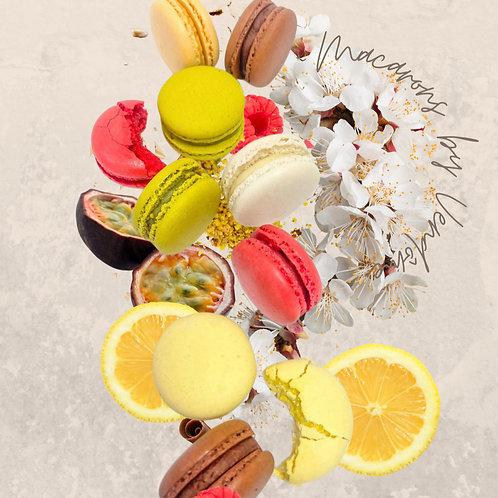 Vendôme - Homemade Macarons Box 6pcs