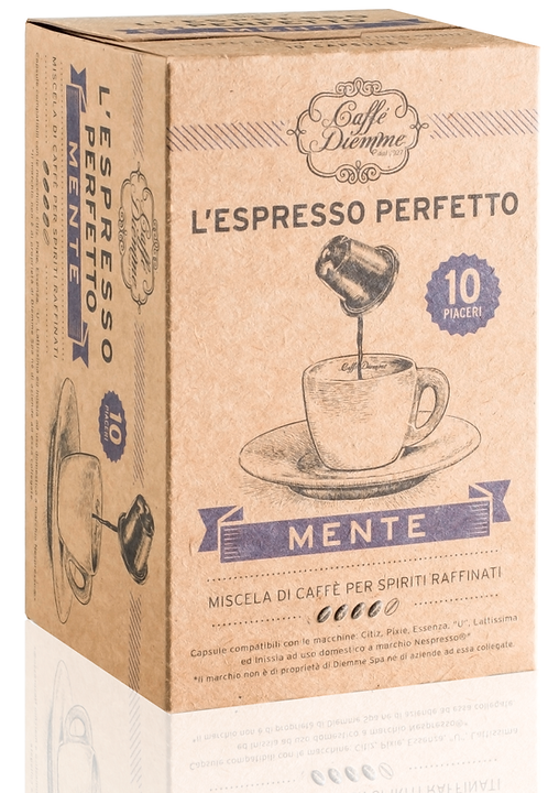 Caffé Diemme - Mente Coffee Capsules x 50 caps