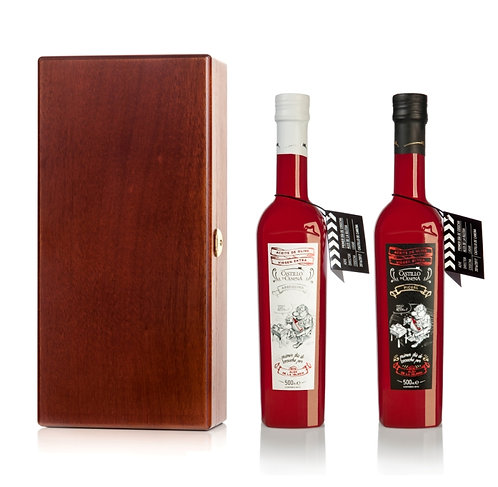 Castillo De Canena - First Day Harvest Oak Gift Box 2 x 500ml