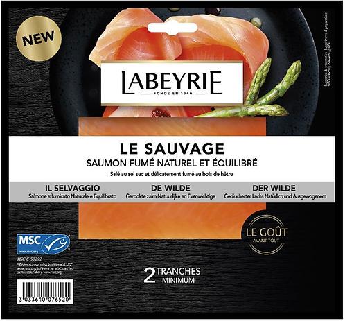 """Labeyrie - Smoked Salmon Gourmet """"The Wild"""" 75g"""