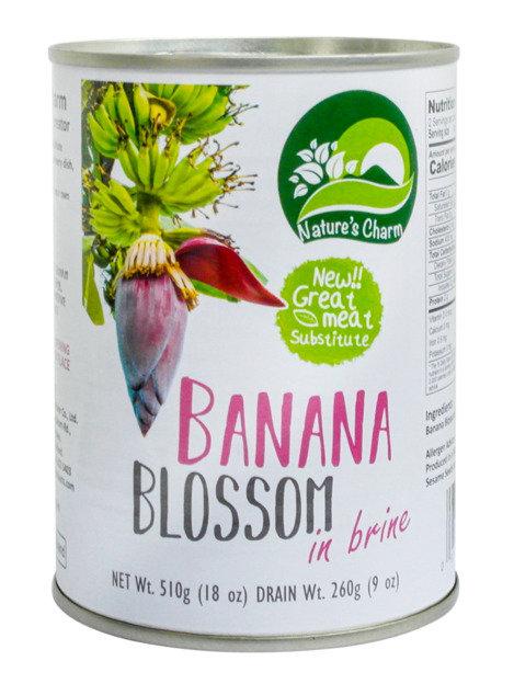Nature's Charm - Banana Blossom in Brine 510g