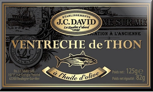 JC David - Tuna Belly with Olive Oil 125g