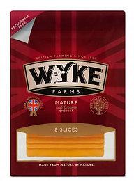 Wyke - Mature Cheddar 8 Slices 160g