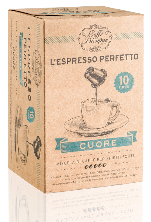 Caffé Diemme - Cuore Coffee Capsules x 50 caps