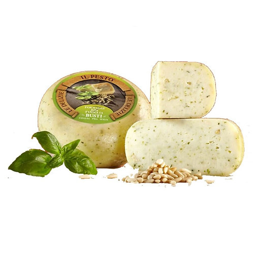 Zanetti - Pure Sheep Cheese with Pesto (Approx. 300g)