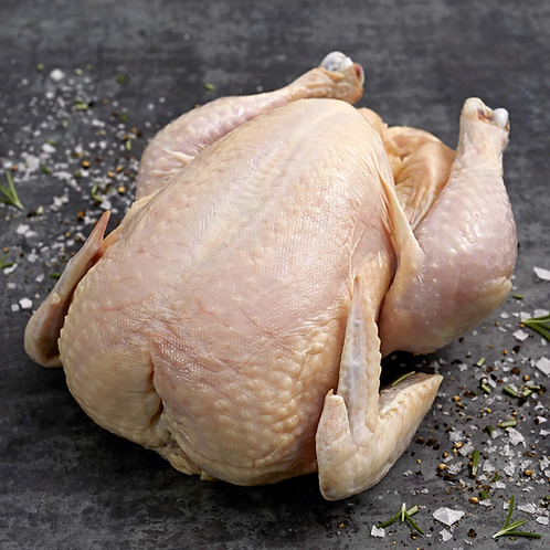 Free Range Corn Fed Yellow Chicken Whole (Approx. 2kg)
