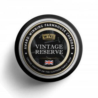 Wyke - Black Waxed Vintage Cheddar Round 100g