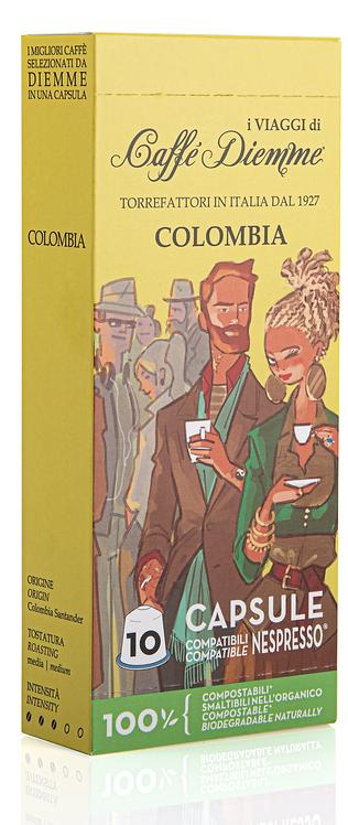 Caffé Diemme - Colombia Coffee Capsules x 10 caps