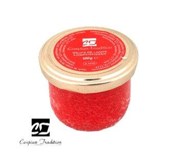 Caspian Tradition - Red Lumpfish Roe 50g