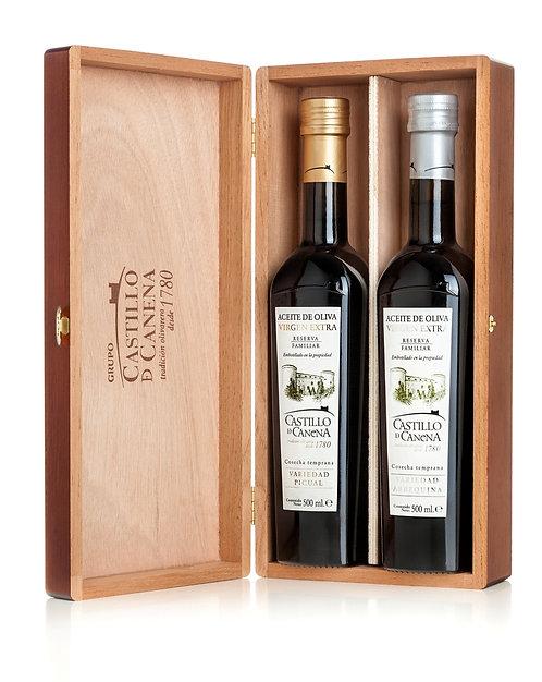 Castillo De Canena - Family Reserve Oak Gift Box 2 x 500ml