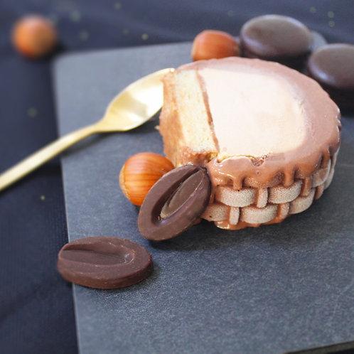 Vendôme - Frozen Yule Log Chocolate & Pralines (6/8 Persons)