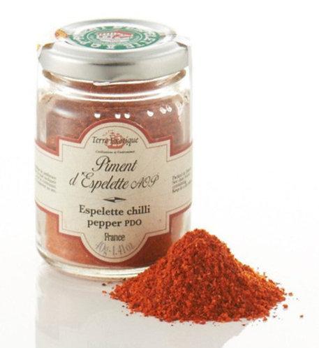 Terre Exotique - Espelette Chili Pepper PDO 40g
