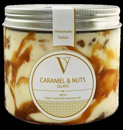 Vendôme - Caramel & Nuts Gelato 400 ml