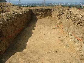 Excavated Pit