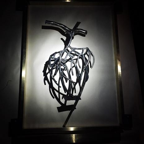Heart Veins Framed